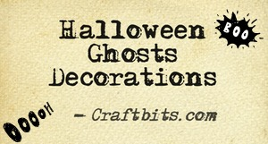 Halloween Ghosts Decorations