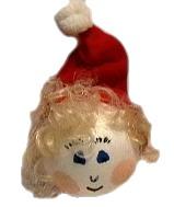 Make A Choir Girl For Christmas Decoration