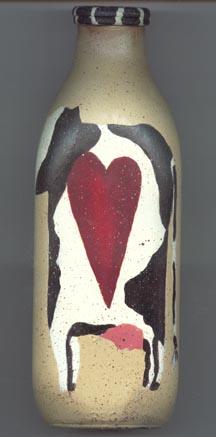Cow Milk Bottle