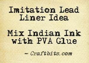 imitation lead liner