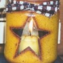 Star Jar Candle holder