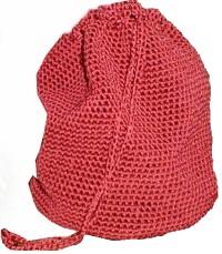 Big Easy Red Bag: Crochet