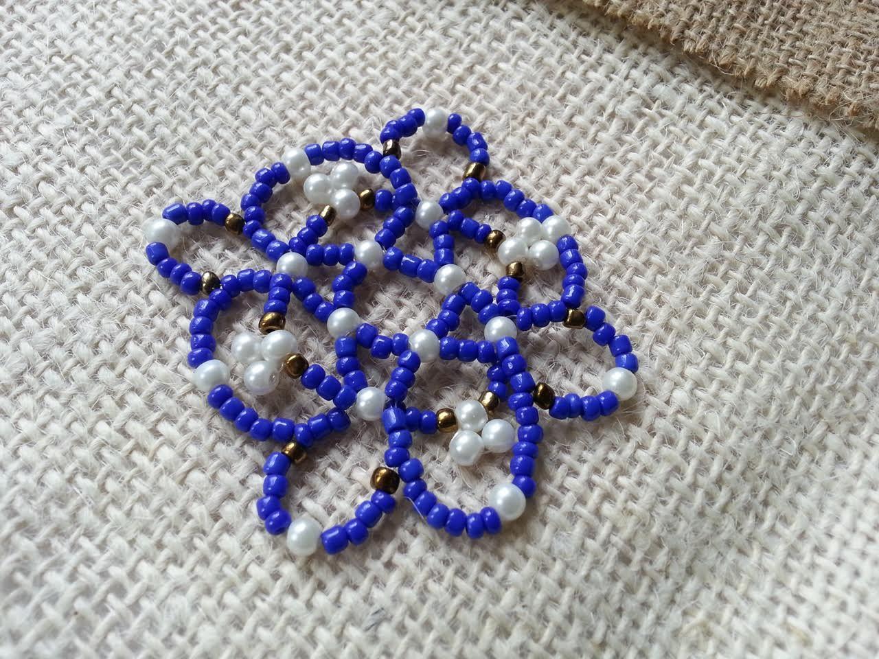 Seed Bead Mandalla