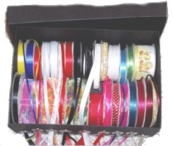 Ribbon Storage Idea Open
