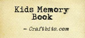 Kids Memory Book