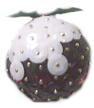 Sequin Christmas Puddings
