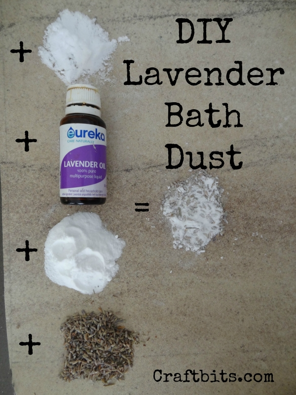 Lavender Bath Dust