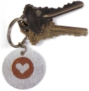 Embossed Key Chain