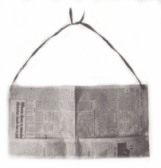 Newspaper Apron