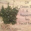 green tea facial toner recipe