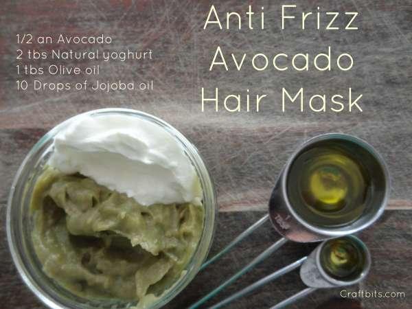 Anti Frizz Avocado Hair Mask