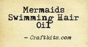 Swimming Hair Oil