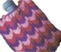 Vintage Hot Water Bottle Cover