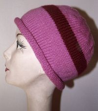 Charity Pattern: Rolled Brim Chemo Cap
