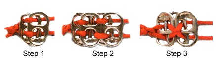 Soda Can Tab Belt Steps