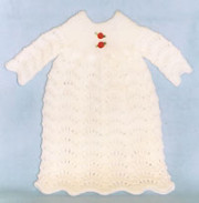 Knitted Baby's Gown