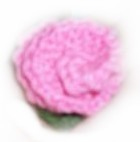 Knitted Flower Pin