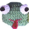 Froggie Child's Hat: Crochet Pattern