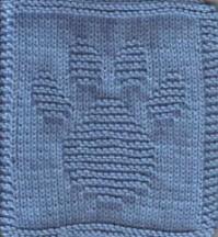 Paw Print Cloth