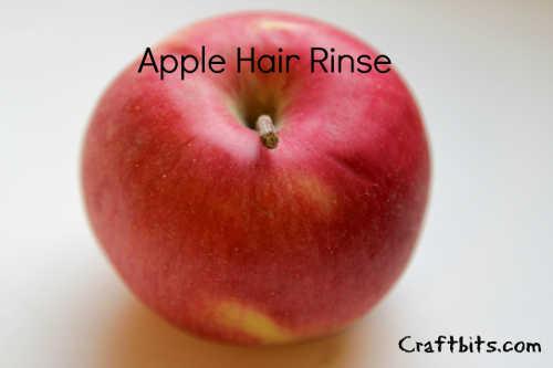 Apple Hair Rinse
