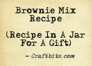 Brownie Mix Recipe