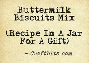 Buttermilk Biscuits Mix