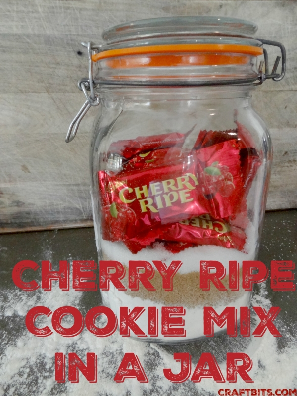 Cherry Ripe Cookie Mix