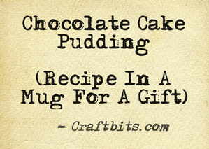 Chocolate Cake Pudding