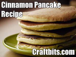 Cinnamon Pancake Recipe