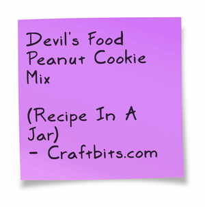 Devils Food Peanut Cookie Mix