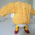 Knitted Egg Sweater or Cosy