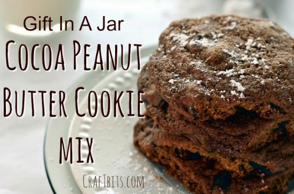 Cocoa Peanut Butter Cookie Mix