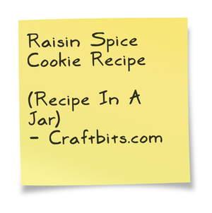 Raisin Spice Cookie Recipe