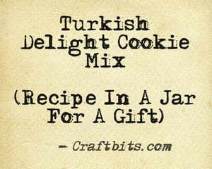 Turkish Delight Cookie Mix