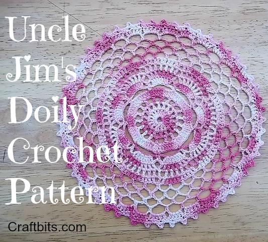 Uncle Jim's Doily Pattern