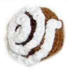 Knitted Cinnamon Roll