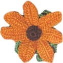 Crochet Flower - Marigold