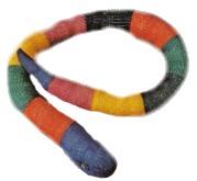 Knitted Kids Snake