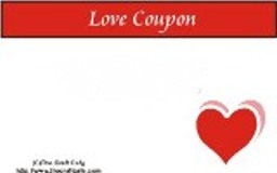 Love Coupon Booklet