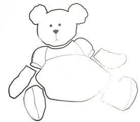 tear bear pattern