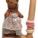 Teddy Hair Band Holder
