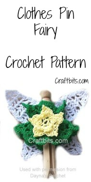 Crochet Clothes Pin Fairy