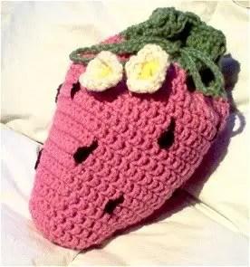 Strawberry Pajama Bag