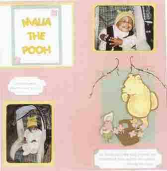Layout Idea - Malia the Pooh