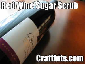 Red Wine Sugar Scrub