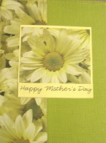 DIY Sunflower Mother's Day Cards
