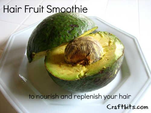 Hair Fruit Smoothie