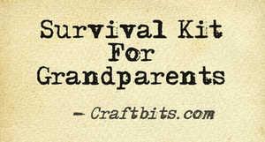 Survival Kit For Grandparents