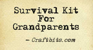 Survival Kit For Grandparents