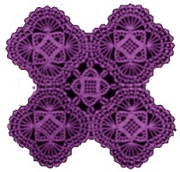 Shell Motif Crochet Pattern